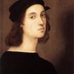 Raffaello Sanzio, ritratto del XVII secolo.