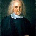 Thomas Hobbes in un dipinto del XVII secolo.