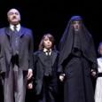 La famosa opera di Pirandello rappresentata al teatro Carcano. Lo spettacolo è alla sesta ripresa consecutiva dal 2008, anno in cui ha deciso di occuparsene il grande regista e attore Giulio Bosetti, scomparso purtroppo l'anno seguente.
