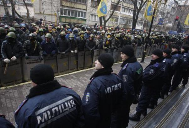 La situazione a Kiev in un momento di stallo.