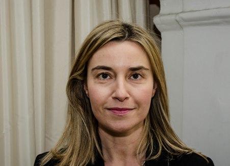 Federica Mogherini, Ministro degli Esteri.