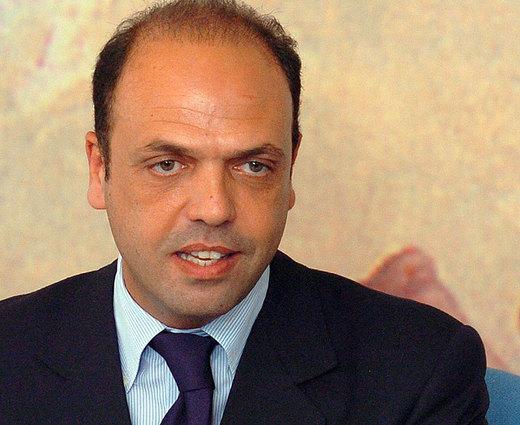Angelino Alfano, Ministro dell'Interno.