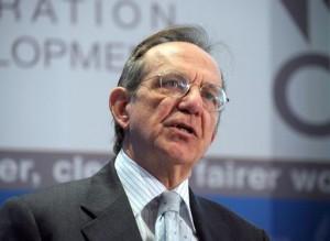 Pier Carlo Padoan, nuovo Ministro dell'Economia.