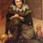 """Diego Velázquez, """"Ritratto del buffone Juan Calabazas""""."""