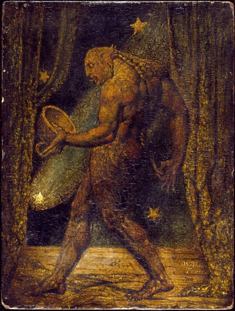 """William Blake, """"Spettro di una pulce"""" (1819-1820)"""