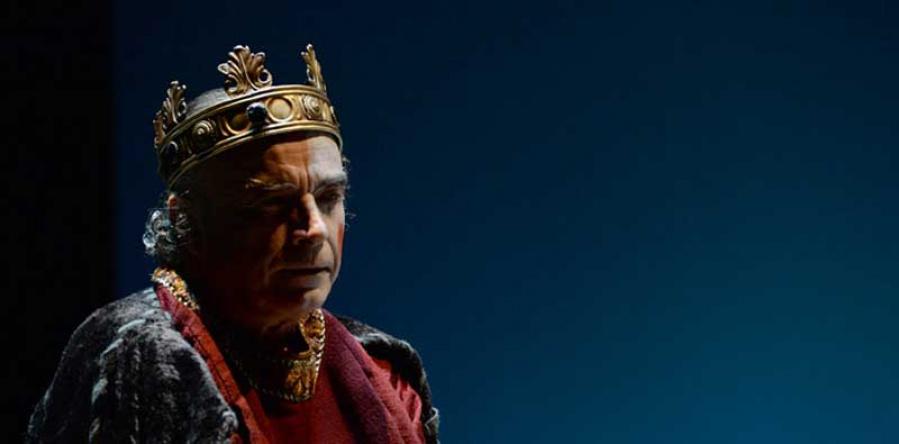"Franco Branciaroli nei panni di ""Enrico IV"""